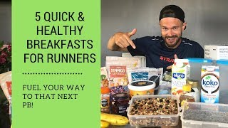 Quick Breakfast Ideas for Runners on the Go - plus my Race Day Diet! Ben Parkes