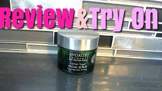 Andalou Naturals Lemon Sugar Facial Scrub   Review & Try On   Andalou Naturals Review 2020