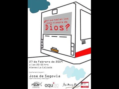 """AQU130 Acto 2º  Conferencia """"¿Por qué hablan los ateos siempre de Dios?"""""""