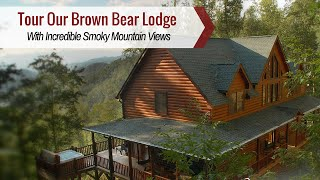 Tour Bryson City Cabin Rentals | Brown Bear Lodge Is Perfect For Your Great Smoky Mountains Vacation