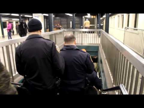 Broadway Junction Metro Station- Brooklyn, NY January, 2013