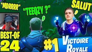 Ce PETIT me COMPARE a TEEQZY... On lui OFFRE le TOP 1 | Best Of Live Fortnite #24