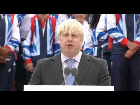 Mayor of London Boris Johnson's Speech – Our Greatest Team: Athletes' Parade Live – BBC One