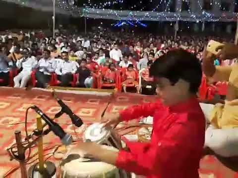 "SOHAM GORANE AND CHAITANYA PERFORM A,""DEVA TUZYA NAVACH...YAD LAGALA""...."