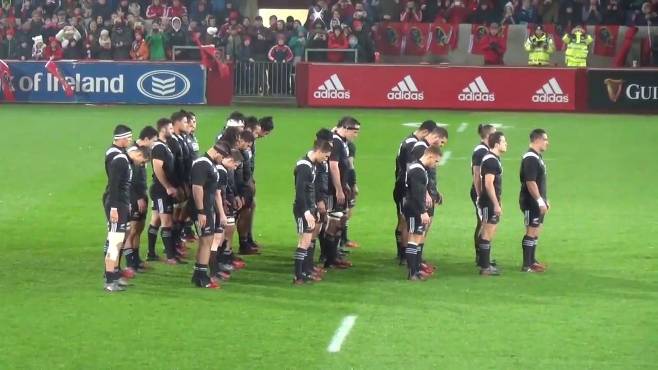 Munster V Maori All Blacks Haka Youtube