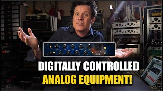 Automated Hardware Compressor/EQ with a Plug In - Tegeler Créme RC