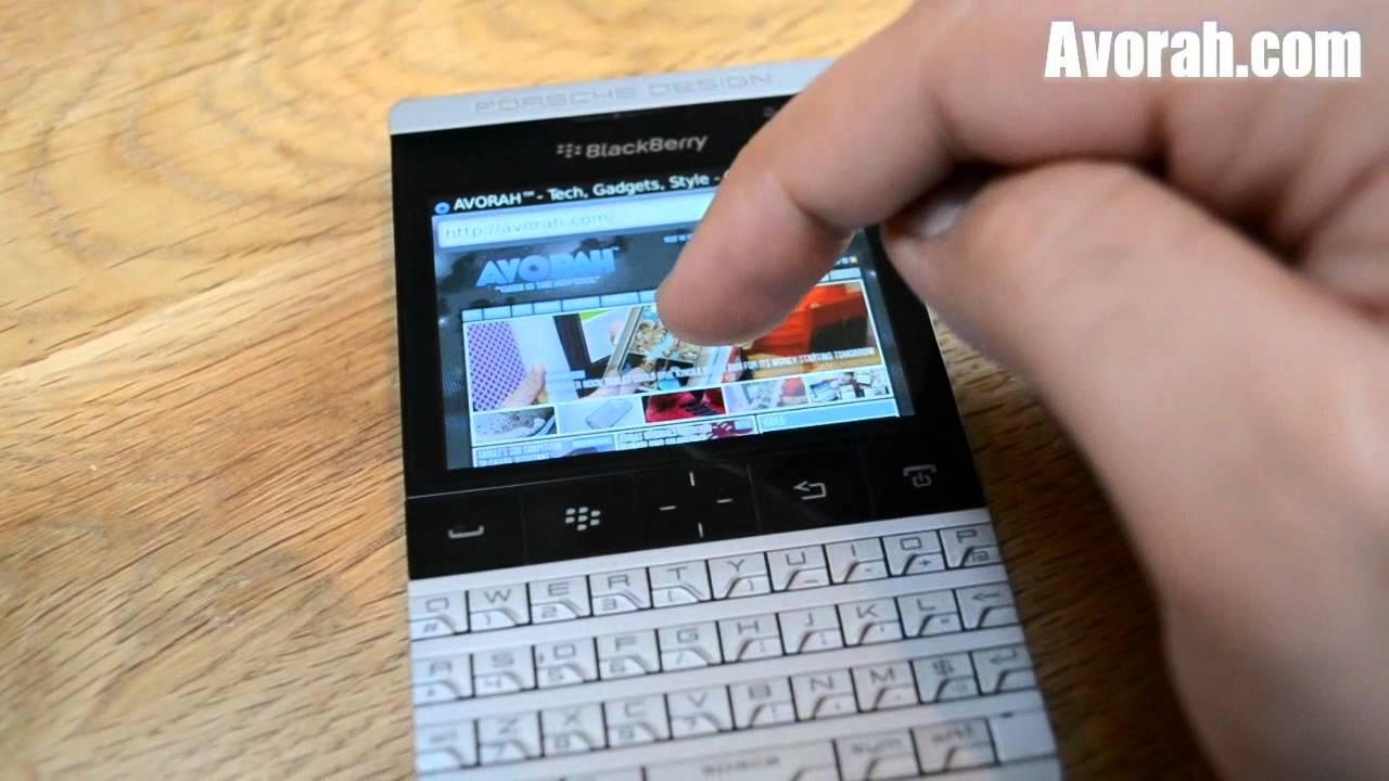 Full Review of BlackBerry Porsche Design P9981 - YouTube