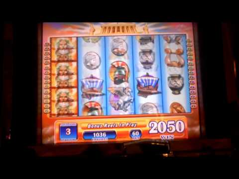 Zeus II Bonus Slot Win on Penny Slot Machine at Parx Casino