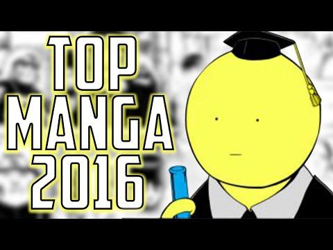 TOP 10 MANGA A LIRE EN 2016