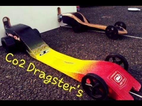 CRAZY FAST - GHS Co2 Powered Dragster's, Design's and Races - YouTube