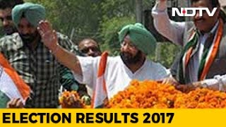 congress takes big lead aaps hopes crushed in punjab