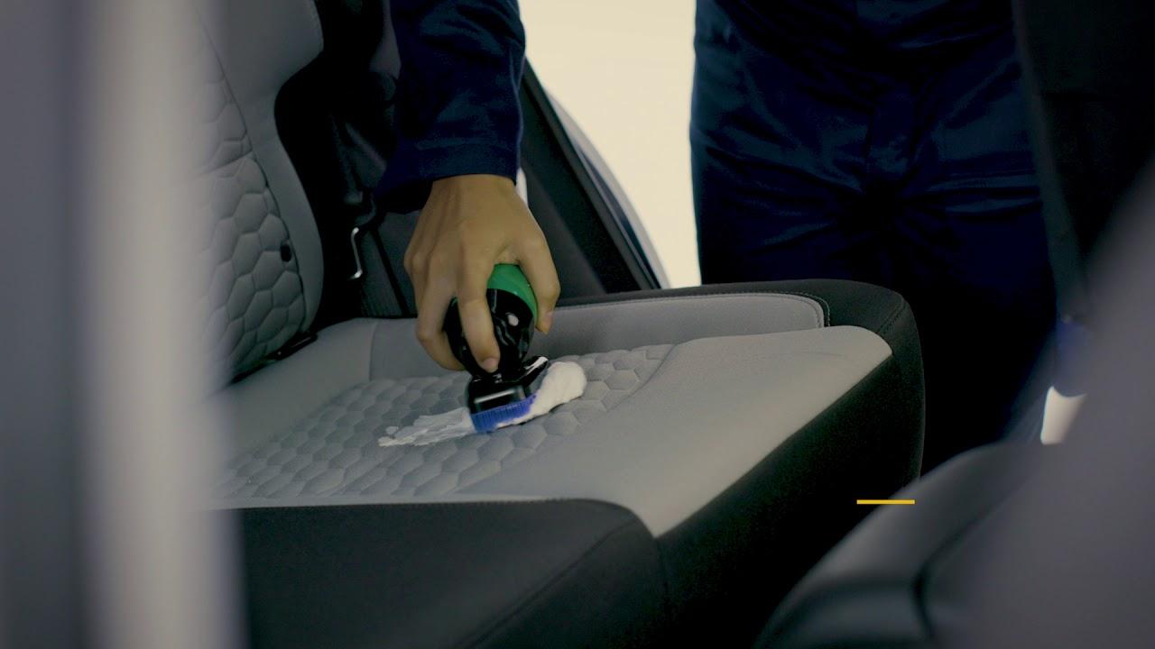 تنظيف مقاعد السيارة القماش اسألي شفروليه Youtube