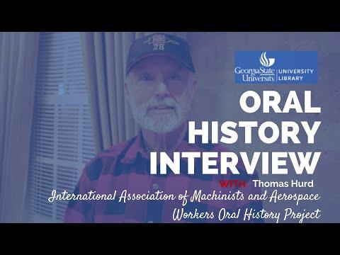 Thomas Hurd oral history interview, 2011-12-07