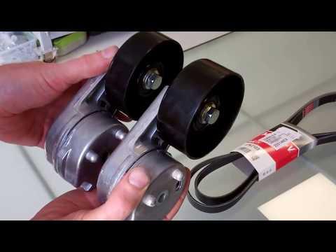 Land Rover TDV6 3.0L Drive belt tensioner failure & repair