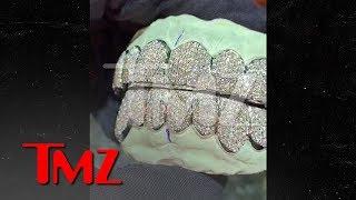 Tekashi 6ix9ine Gets Custom Diamond and Gold Grills | TMZ