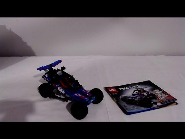 Der 42010 Offroad Racer von Lego