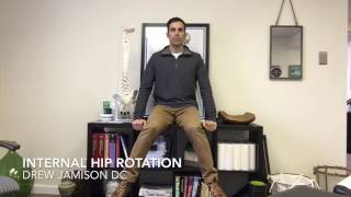 Richmond VA Chiropractor - Internal Hip Rotation