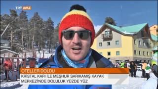 Kayak Merkezlerinde Yarıyıl Tatili Yoğunluğu! - TRT Avaz Haber