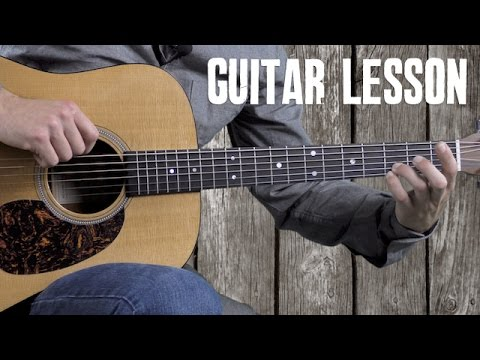 Ill Fly Away  Guitar Lesson  How to Play in the Style of Alan Jackson