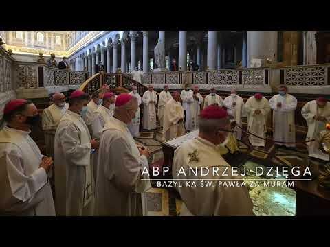 Abp Dzięga: Głoszenie Chrystusa musi być w Duchu Świętym (ad limina apostolorum - grupa 2 - dzień 5)