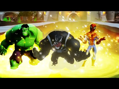Disney Infinity 2.0 - Showcasing All Characters Costumes, Abilities/Skills