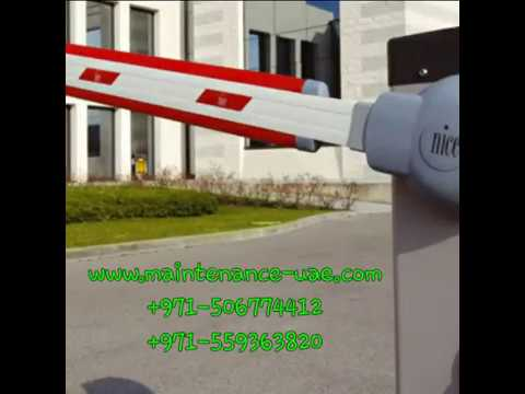 PARKING BARRIER DUBAI | GATE BARRIER DUBAI | 0506774412