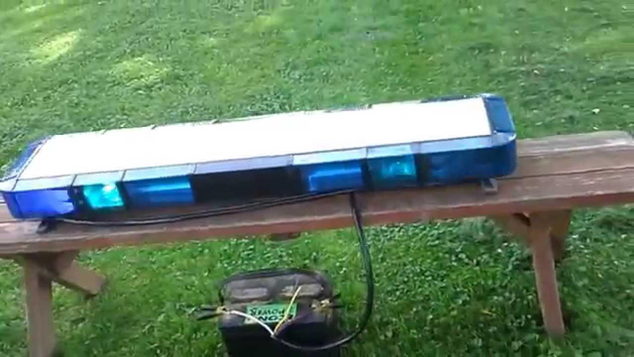 Whelen Edge 9000 with Freedom corner LEDs  YouTube