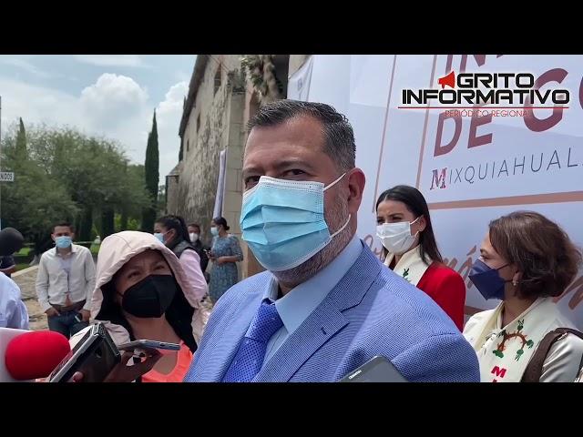 JOSÉ RAMÓN AMIEVA GÁLVEZ ENTREVISTA POSTERIOR AL PRIMER INFORME DE GOBIERNO