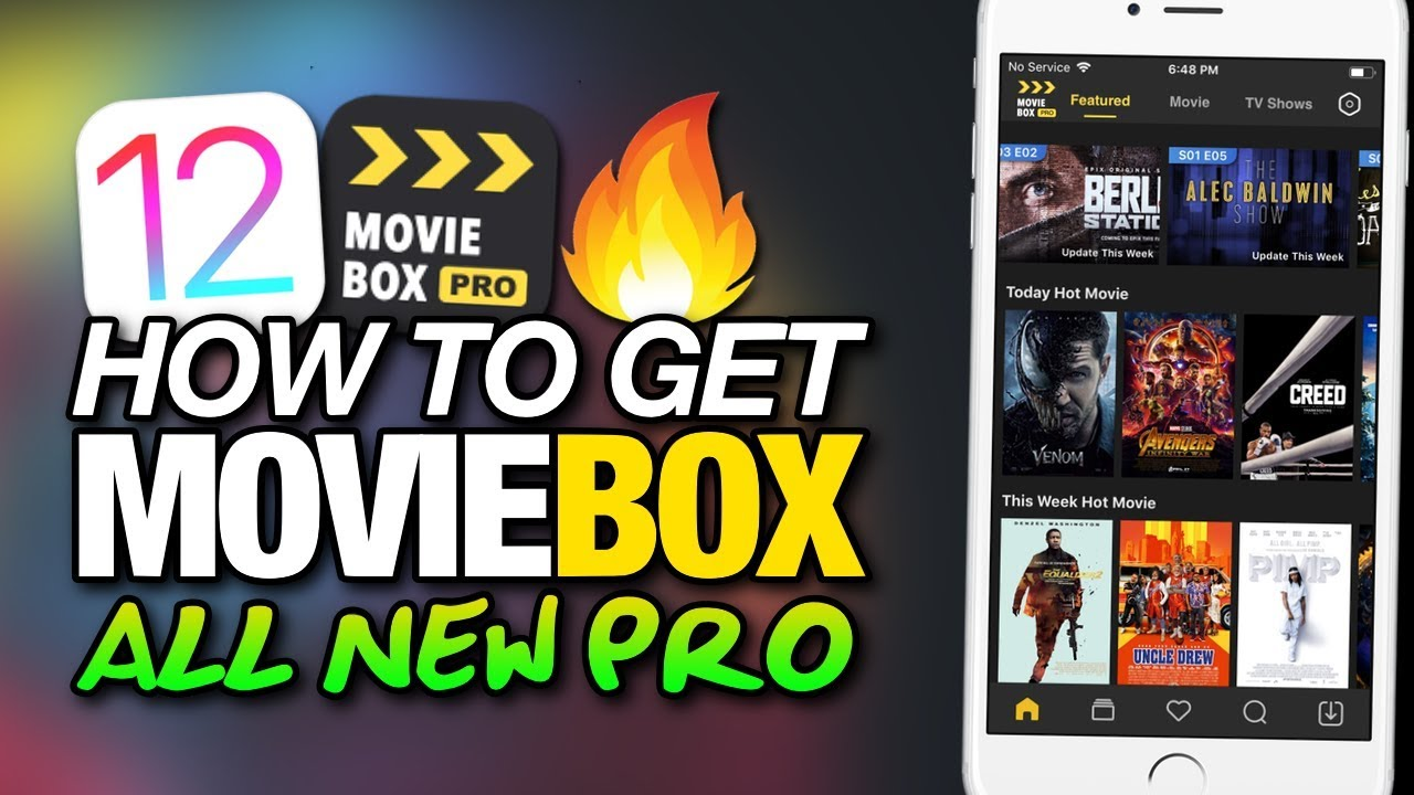 NEW How To Get MOVIEBOX PRO! On iOS 12 FREE MOVIES & TV SHOWS For iPhone &  iPad