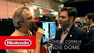 Nintendo @ Lisboa Games Week 2017 - jogos indie na Nintendo Switch (Indie Dome)