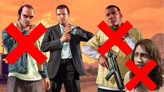 GTA 5 Trevor Has Sex With Amanda And Michael Kills Trevor And Trevor Kills Michael