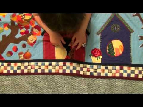 Interactive Bird Play Quilt by Mrs. Kate