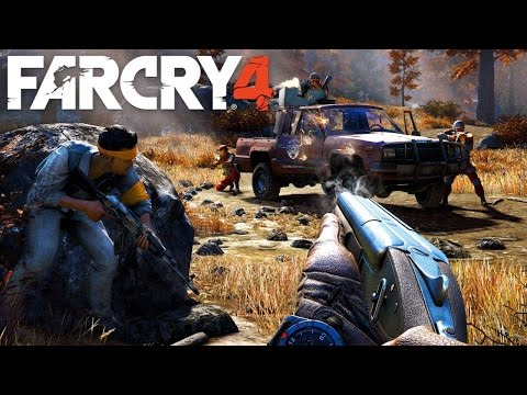 Far Cry 4  #3  Pierwsze porażki :P