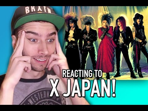 REACTING TO X JAPAN!!!