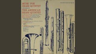 Brass Quartet: Fantasia / Arioso / Toccata (medley) - Ulysses Kay