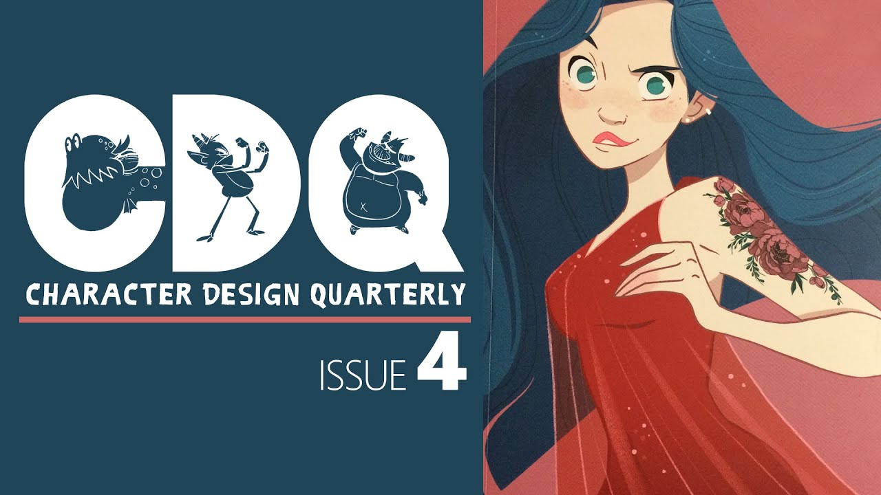 Cdq Character Design Quarterly Magazine Issue 4 Quick Look