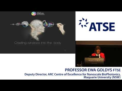 ATSE 2017 New Fellow: Professor Ewa Goldys FTSE