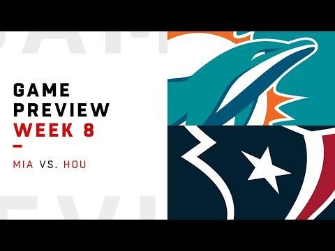 Miami Dolphins vs. Houston Texans | Week 8 Game Preview | Keys to the Game