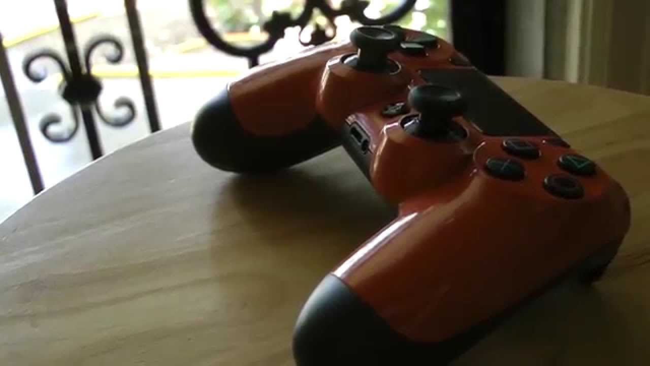 How to Spray Paint Your Dualshock 4 PS4 Controller - YouTube