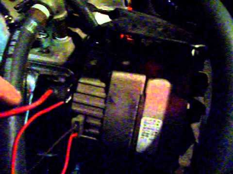 how to hook up an alternator old - YouTube Alternator Charging System Wiring Diagram C on
