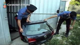 ROCCA PRIORA: SMONTAVANO E RICICLAVANO PEZZI DI AUTO DI LUSSO RUBATE
