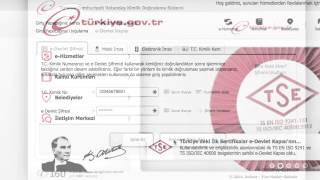 """e-devlet kapısı - www.turkiye.gov.tr I """"Öğrenci Belgesi Sorgulama"""""""