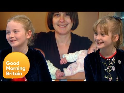 Twin Sisters on Meeting Their Late Mum's Favourite Pop Star Kylie Minogue | Good Morning Britain