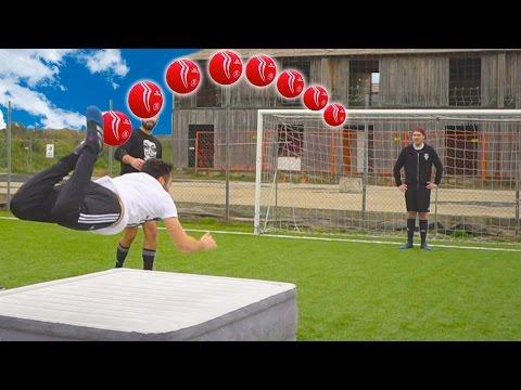 SCORPION KICK FOOTBALL CHALLENGE - w/Illuminaticrew