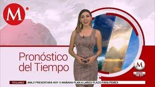 El clima para mañana 12 de julio, con Jessica de Luna