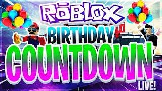 🔴 EN VIVO - ROBLOX - COUNTDOWN DE BIRTHDAY!
