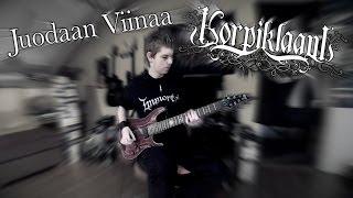 Korpiklaani - Juodaan Viinaa Guitar Cover By Siets96