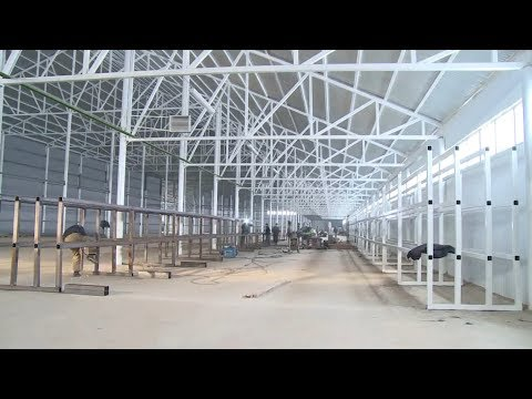 Строительство ангара под  производство