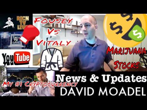 News, Stocks, Cryptocurrencies - RICH TV LIVE - David Moadel