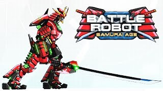 Battle Robot Samurai Age Game | Eftsei Gaming